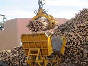 EXSTEL timber grab type EXB-GC