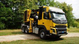 Wüst SMC-812 chipper truck